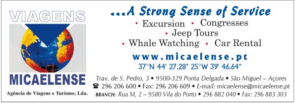 Viagens Micaelense – Agência de Viagens e Turismo, Lda