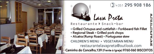Restaurant Lava Preta