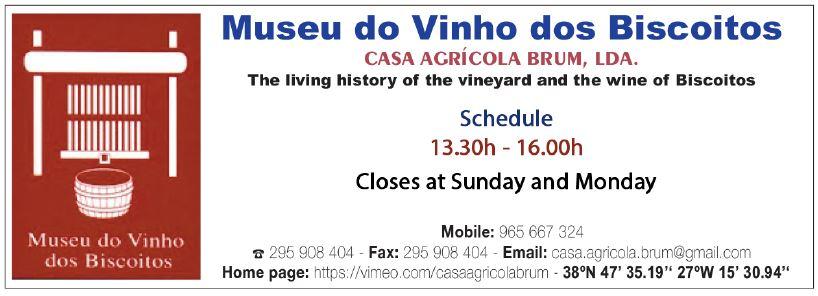 Museu do Vinho dos Biscoitos – Museum