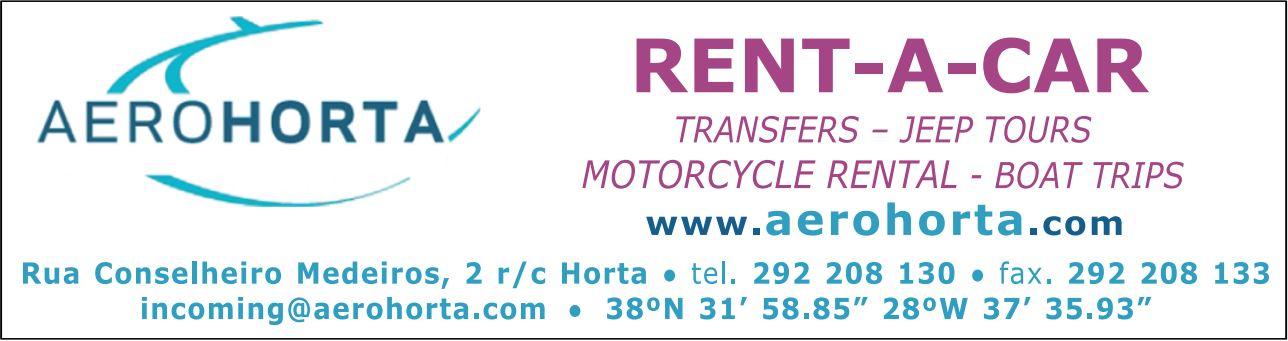 Aerohorta – Rent-a-Car (Faial)