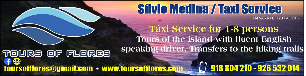 Sílvio Medina – Taxi Service (Tours of Flores)