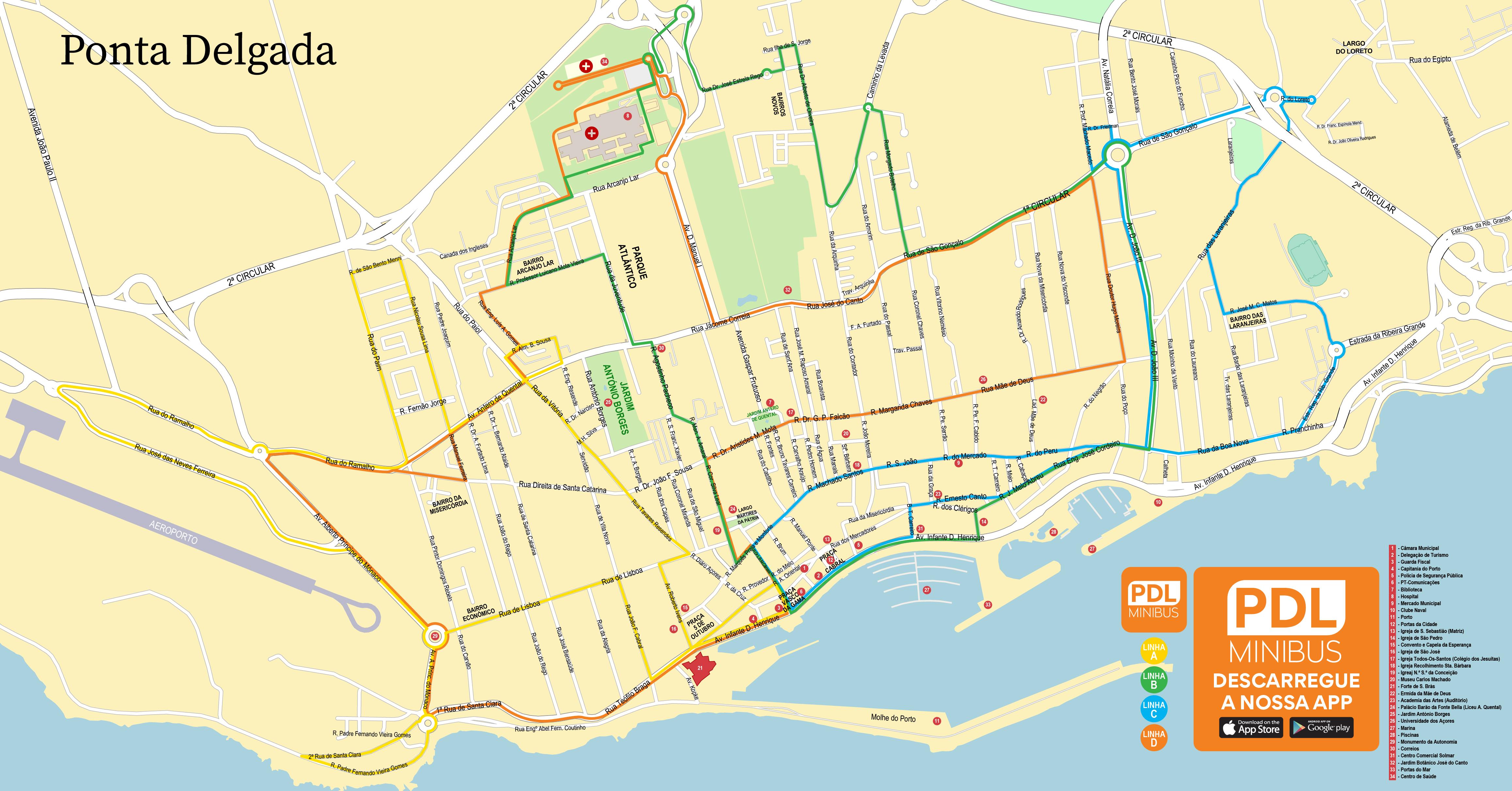 Câmara Municipal de Ponta Delgada – Urban Buses
