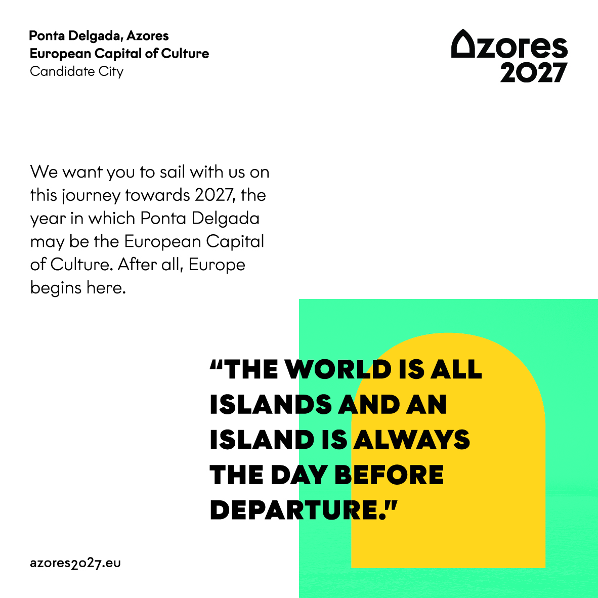 Azores 2027 – Ponta Delgada